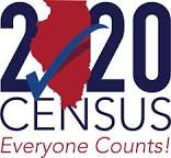 Official IDHS census logo for RAILS grant recipients to use
