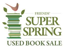friends super spring book sale