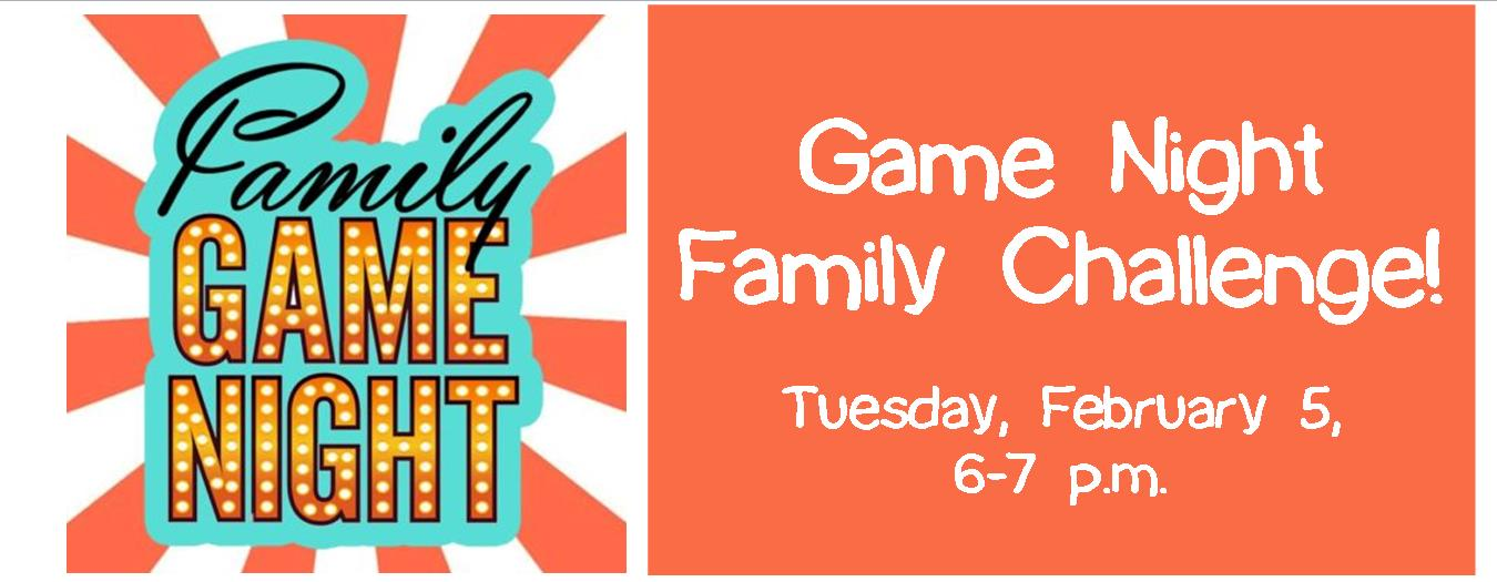 Game Night Family Challenge