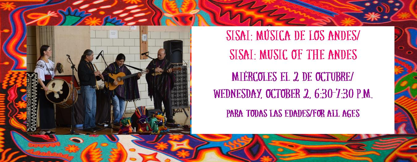 Sisai Music of the Andes